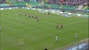 Al Barbera di Palermo Dias regala i tre punti alla Lazio con un goal al volo