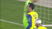 Al Bentegodi Dainelli chiude in corner il tentativo di Gakpe