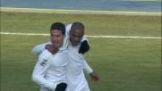 Al Bentegodi Hernanes sigla la rete dello 0-1 con un goal di rapina