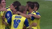 Al Bentegodi Pellissier porta in vantaggio il Chievo Verona contro il Novara