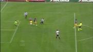 Al Friuli Asamoah ribatte in goal dopo la respinta corta di Mirante