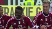 Al Manuzzi Muntari porta in vantaggio il Milan con un goal di rapina