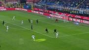 Al Meazza un tiro da manuale di Lestienne colpisce la traversa dell'Inter