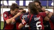 Al Sant'Elia Conti segna il goal del vantaggio sulla Sampdoria