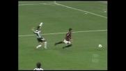 Alberto abbatte Serginho in area: rigore per il Milan!