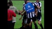 Alberto segna il goal del pareggio per l'Udinese contro il Parma