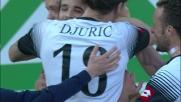 Alejandro Rodriguez segna il goal vittoria in Cesena-Udinese