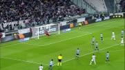 Alex Sandro contro la Lazio sfodera un gran mancino che dà solo l'illusione del goal