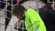 Allo Juventus Stadium Vidal prova l'eurogoal ma Marchetti para