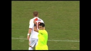Allo stadio Marassi De Rossi travolge Palladino e rimedia il secondo cartellino giallo