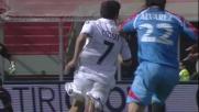 Alvarez blocca il contropiede del Cagliari e viene espulso