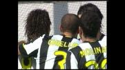 Amauri punisce il Cagliari, goal vittoria della Juventus al Sant'Elia