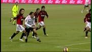 Amauri scatenato, controllo e guizzo in attacco contro il Milan