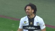 Amauri segna il goal del 2-3 al Milan con uno splendido colpo di tacco