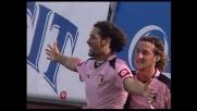 Amauri va in goal contro l'Udinese e porta in vantaggio il Palermo