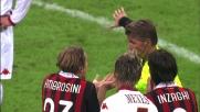 Ambrosini colpisce Burdisso al volto: secondo giallo ed espulsione