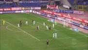 Ambrosini firma il goal del 2-0 per il Milan all'Olimpico