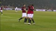 Ambrosini realizza il goal del pareggio per il Milan contro il Palermo