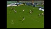 Zola, magia e traversa contro il Palermo