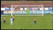 Amoruso batte su rigore Muslera e regala il goal vittoria al Parma