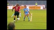 Angelo Peruzzi salva la porta della Lazio sull'esterno di Shevchenko