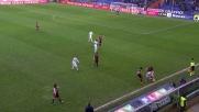 Ansaldi respinge sulla linea il tiro di Babacar e salva il Genoa