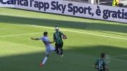 Antei chiude in contrasto su Perica contro l'Udinese