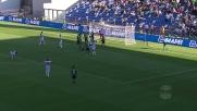 Antei vicino all'autogoal ringrazia il palo contro l'Udinese