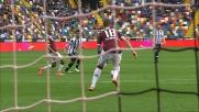 Anticipo doloroso di Jansson contro l'Udinese
