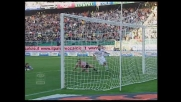 Il goal di Caracciolo contro il Cagliari vale l'1-0 per il Palermo