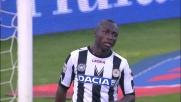 Armero si mangia un goal contro il Palermo, sinistro sul palo