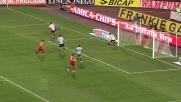 Asamoah anticipa Borriello e salva l'Udinese da un goal della Roma