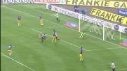 Asamoah apre le marcature contro il Parma con un goal in scivolata sottomisura
