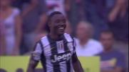 Asamoah chiude la partita al Marassi siglando il terzo goal della Juventus