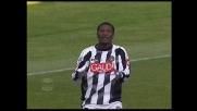 Asamoah sfiora un goal spettacolare in Udinese-Palermo