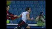 Assist di tacco di Kaka e goal di  Gilardino che decide la partita al Friuli