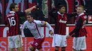 Lucarelli segna un goal da opportunista: il Livorno raggiunge il Milan a San Siro