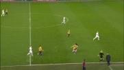 Atalanta inerme sul contropiede del Verona finalizzato in goal da Siligardi con un preciso sinistro