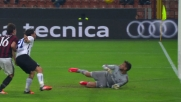 Atalanta vicina al goal a San Siro, Milan salvato da Donnarumma