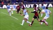 Autogoal fortunoso di Konko su tiro di Kakà in Lazio-Milan