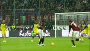 Gran risposta di Sorrentino sulla punizione di Jankuloski: niente goal per il Milan