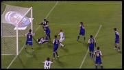 Lucarelli atterra Zapata e provoca un penalty per l'Udinese