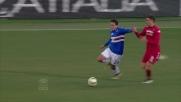 Avelar lascia il Cagliari in 10: rosso per fallo su Eder