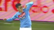 Azione verticale del Napoli e goal di Callejon che apre le marcature