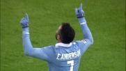 Il bolide di Felipe Anderson finisce in rete: raddoppio Lazio con la Sampdoria