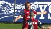 La rete di Biondini chiude la partita contro il Palermo
