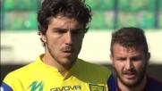 Paloschi segna il goal del vantaggio sul Genoa da calcio di rigore