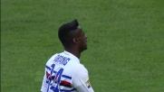 Obiang manda sul fondo con un destro potente da fuori area