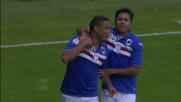 Muriel timbra il goal del vantaggio sul Verona a Marassi