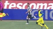 Incredibile errore di Asamoah, solo palo contro il Chievo Verona